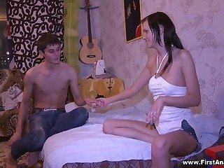 Anal sex after quarrel